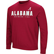 Colosseum Men's Alabama Crimson Tide Crimson Playbook Fleece