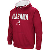 Colosseum Men's Alabama Crimson Tide Crimson Fleece Pullover Hoodie