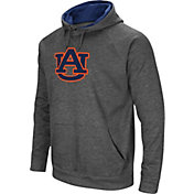 Colosseum Men's Auburn Tigers Grey Fleece Pullover Hoodie