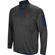 Colosseum Men's Auburn Tigers Blue Amnesia Quarter-Zip Shirt