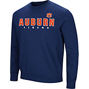 Colosseum Men's Auburn Tigers Blue Playbook Fleece
