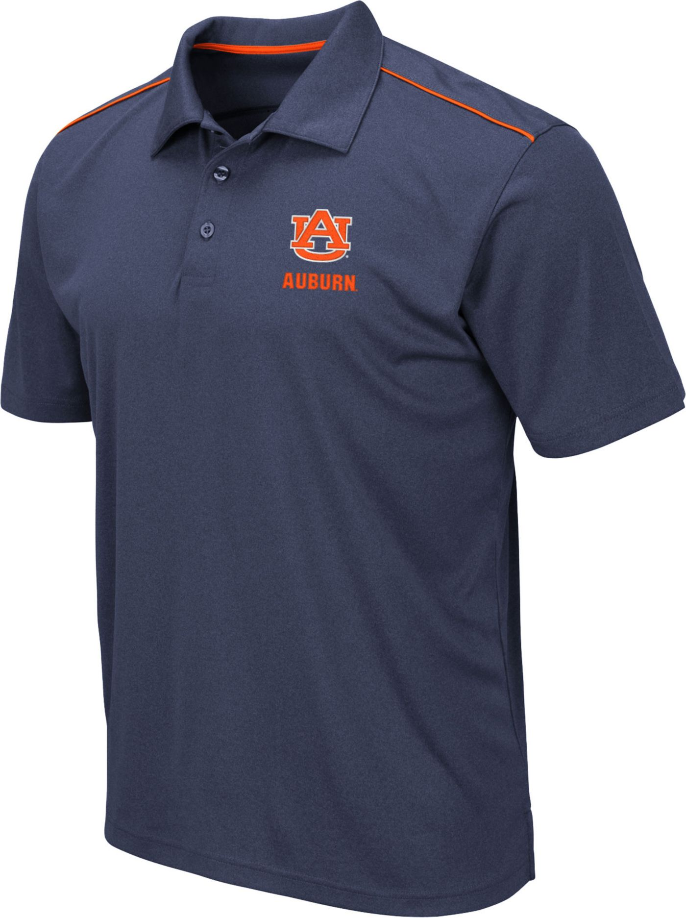 Colosseum Men's Auburn Tigers Blue Eagle Polo