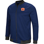Colosseum Men's Auburn Tigers Blue Sack The QB Full-Zip Bomber Jacket