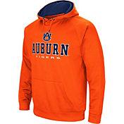 Colosseum Men's Auburn Tigers Orange Fleece Pullover Hoodie