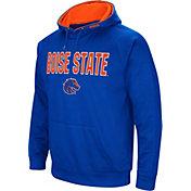 Colosseum Men's Boise State Broncos Blue Fleece Pullover Hoodie