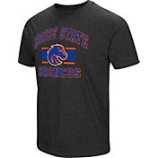 Colosseum Men's Boise State Broncos Grey Tri-Blend T-Shirt