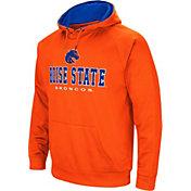 Colosseum Men's Boise State Broncos Orange Fleece Pullover Hoodie