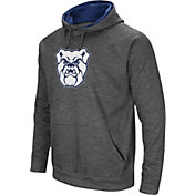 Colosseum Men's Butler Bulldogs Grey Fleece Pullover Hoodie