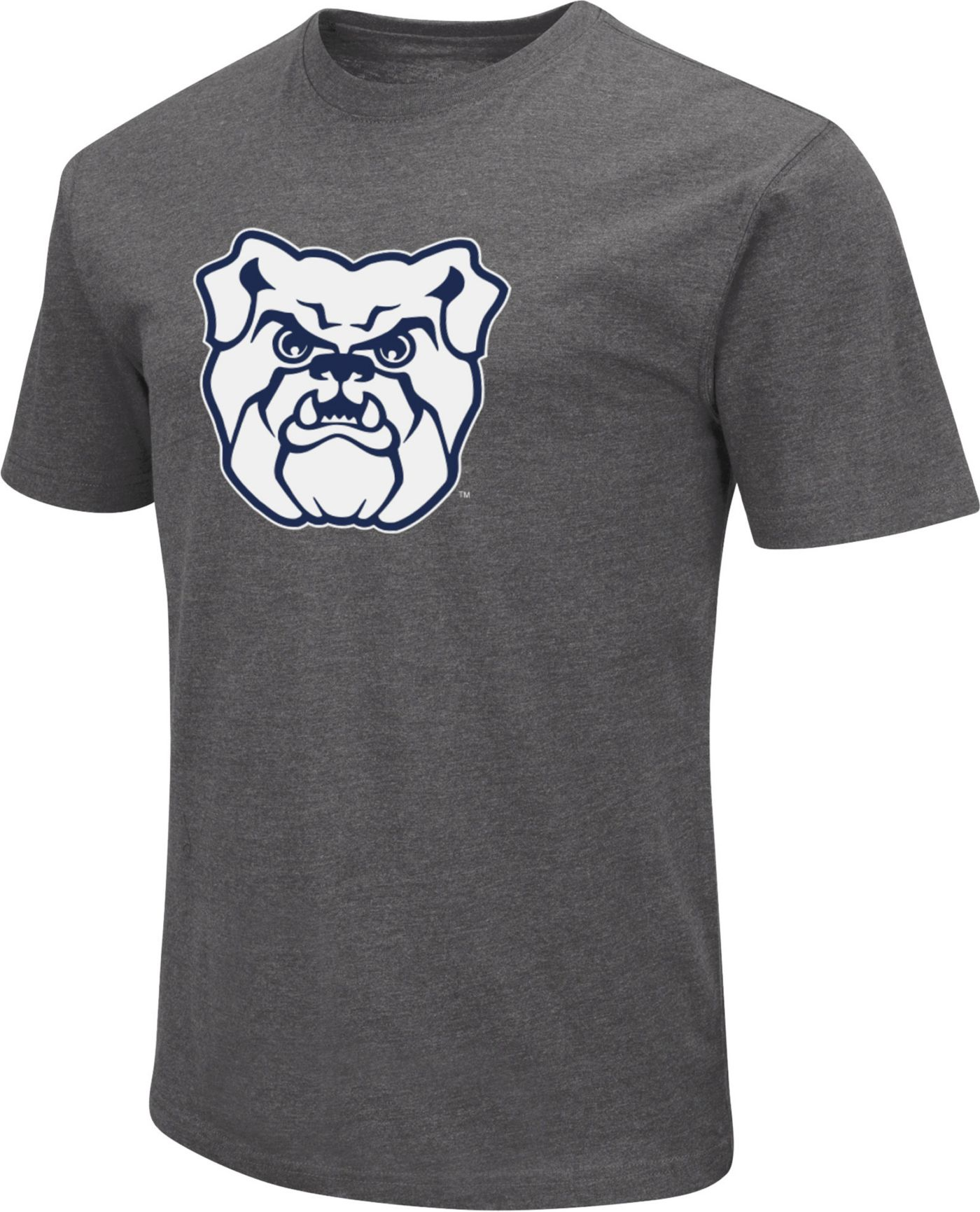 Colosseum Men's Butler Bulldogs Grey Dual Blend T-Shirt