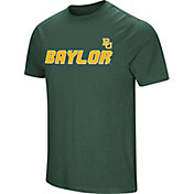Colosseum Men's Baylor Bears Green Brushed Performance T-Shirt