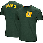 Colosseum Men's Baylor Bears Green Voodoo Pocket T-Shirt