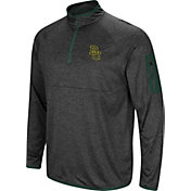Colosseum Men's Baylor Bears Grey Amnesia Quarter-Zip Shirt