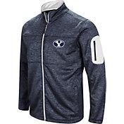 Colosseum Men's BYU Cougars Blue Glacier Full-Zip Jacket