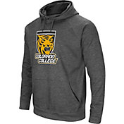 Colosseum Men's Colorado College Tigers Grey Fleece Pullover Hoodie
