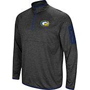 Colosseum Men's UC Davis Aggies Grey Amnesia Quarter-Zip Shirt
