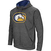 Colosseum Men's UC Davis Aggies Grey Fleece Pullover Hoodie