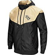 Colosseum Men's UCF Knights Black/Gold Galivanting Full Zip Jacket