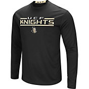 Colosseum Men's UCF Knights Long Sleeve Performance Black T-Shirt