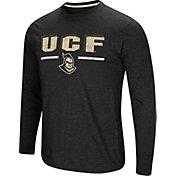 Colosseum Men's UCF Knights Touchdown Long Sleeve Black T-Shirt