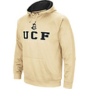 Colosseum Men's UCF Knights Gold Fleece Pullover Hoodie
