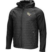 Colosseum Men's UCF Knights Grey/Black Baseplate Full-Zip Jacket