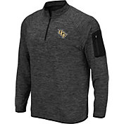 Colosseum Men's UCF Knights Grey Quarter-Zip Shirt