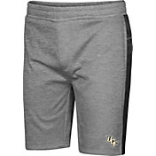 Colosseum Men's UCF Knights Grey Take A Knee Fleece Shorts