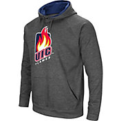 Colosseum Men's UIC Flames Grey Pullover Hoodie