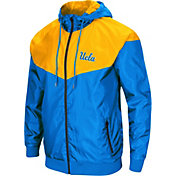 Colosseum Men's UCLA Bruins True Blue/Gold Galivanting Full Zip Jacket