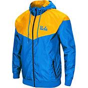 Colosseum Men's UCLA Bruins True Blue/Gold Galivanting Full Zip Jacket