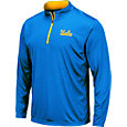Colosseum Men's UCLA Bruins True Blue Embossed Quarter-Zip Performance Shirt
