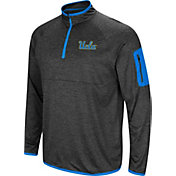 Colosseum Men's UCLA Bruins Grey Amnesia Quarter-Zip Shirt