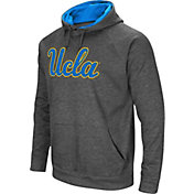 Colosseum Men's UCLA Bruins Grey Fleece Pullover Hoodie