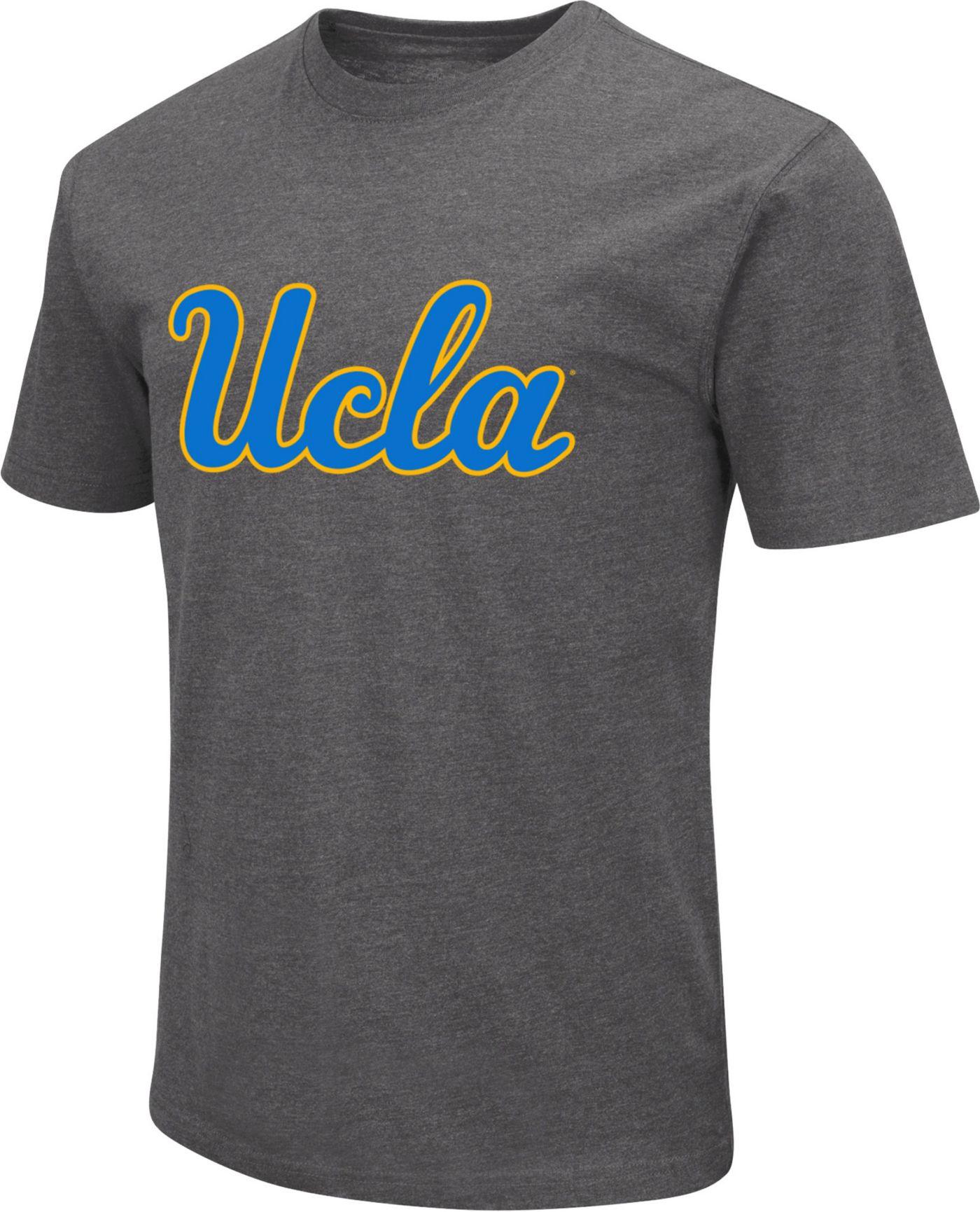 Colosseum Men's UCLA Bruins Grey Dual Blend T-Shirt