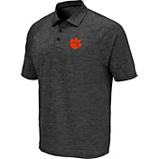 Colosseum Men's Clemson Tigers Grey Polo