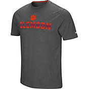 Colosseum Men's Clemson Tigers Grey Medula Oblongata T-Shirt