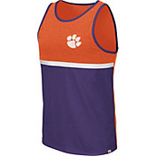 Colosseum Men's Clemson Tigers Orange/Regalia La Paz Tank Top