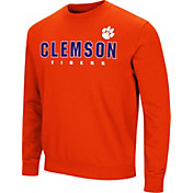 Colosseum Men's Clemson Tigers Orange Playbook Fleece