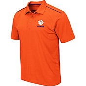 Colosseum Men's Clemson Tigers Orange Eagle Polo