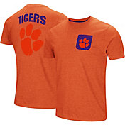 Colosseum Men's Clemson Tigers Orange Voodoo Pocket T-Shirt