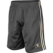 Colosseum Men's Colorado Buffaloes Grey Santiago Shorts