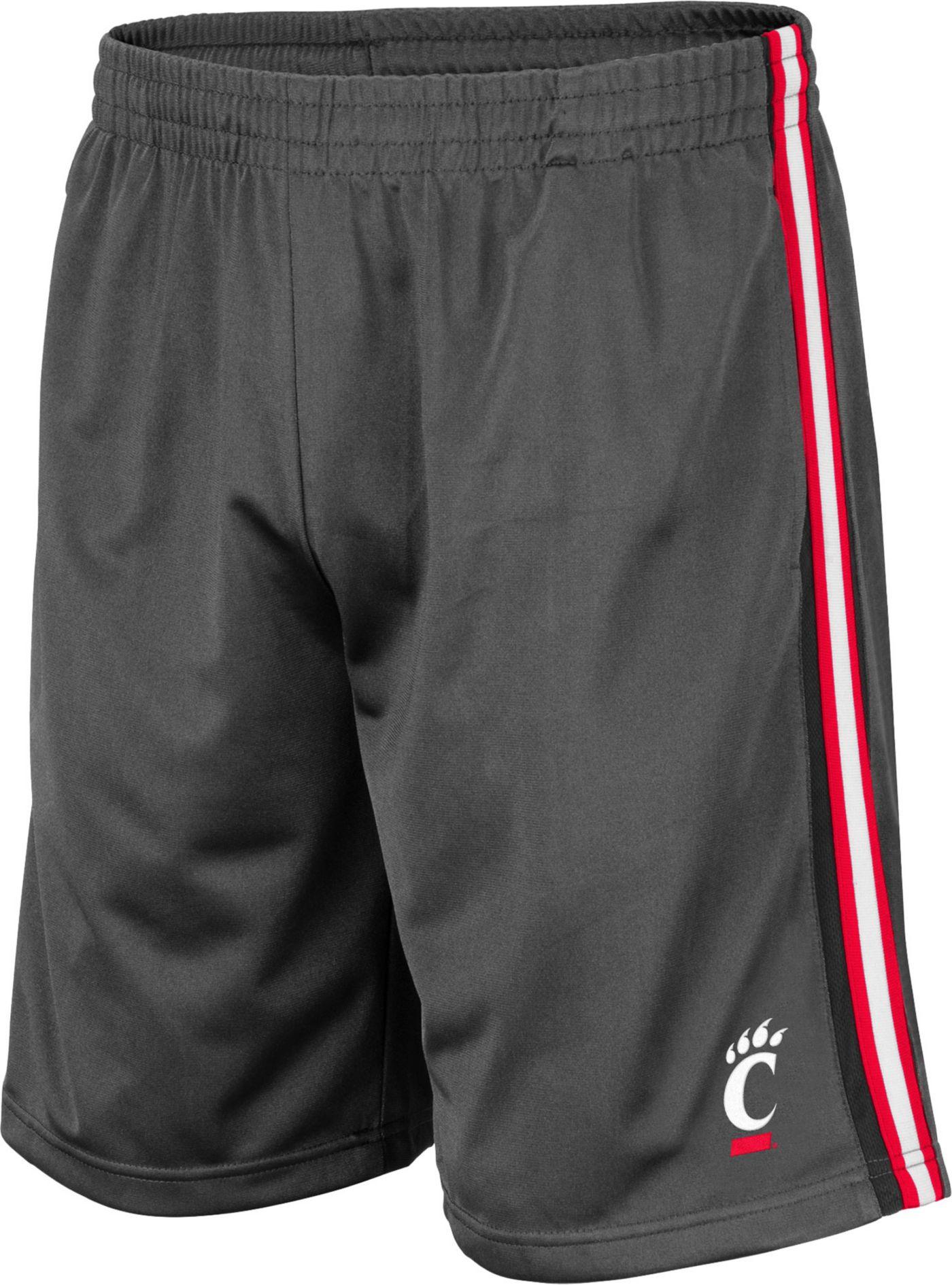 Colosseum Men's Cincinnati Bearcats Grey Santiago Shorts