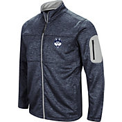 Colosseum Men's UConn Huskies Blue Glacier Full-Zip Jacket