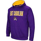 Colosseum Men's East Carolina Pirates Purple Fleece Pullover Hoodie