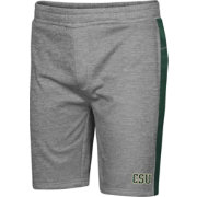 Colosseum Men's Colorado State Rams Grey Take A Knee Fleece Shorts