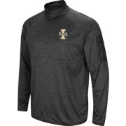 Colosseum Men's Idaho Vandals Grey Amnesia Quarter-Zip Shirt