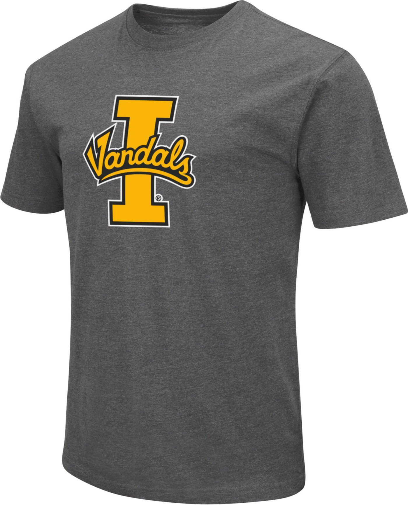 Colosseum Men's Idaho Vandals Grey Dual Blend T-Shirt