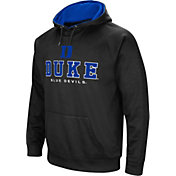 Colosseum Men's Duke Blue Devils Fleece Pullover Black Hoodie