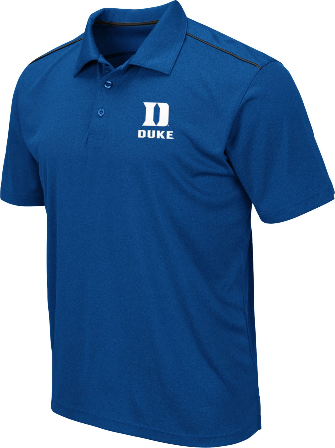 Colosseum Men's Duke Blue Devils Duke Blue Eagle Polo