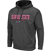 Colosseum Men's Delaware State Hornets Grey Pullover Hoodie